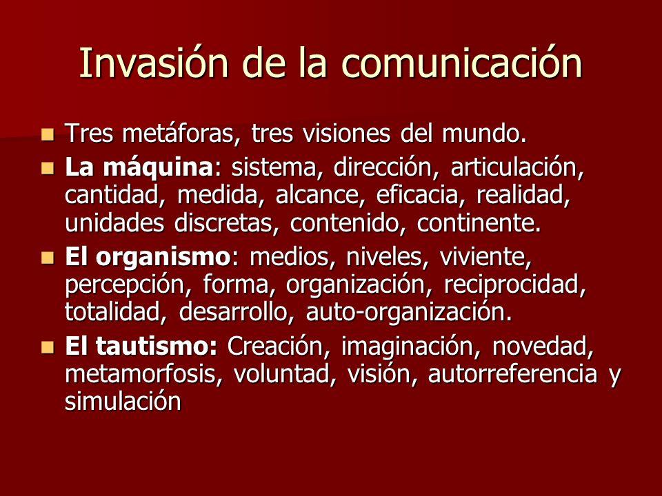 Invasión de la comunicación