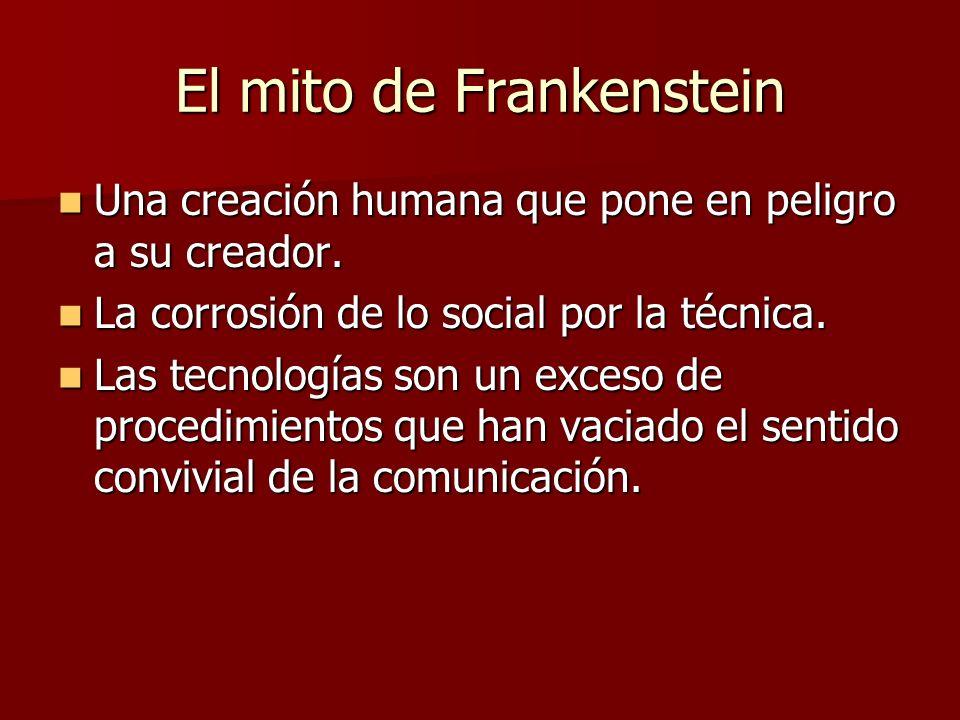 El mito de Frankenstein