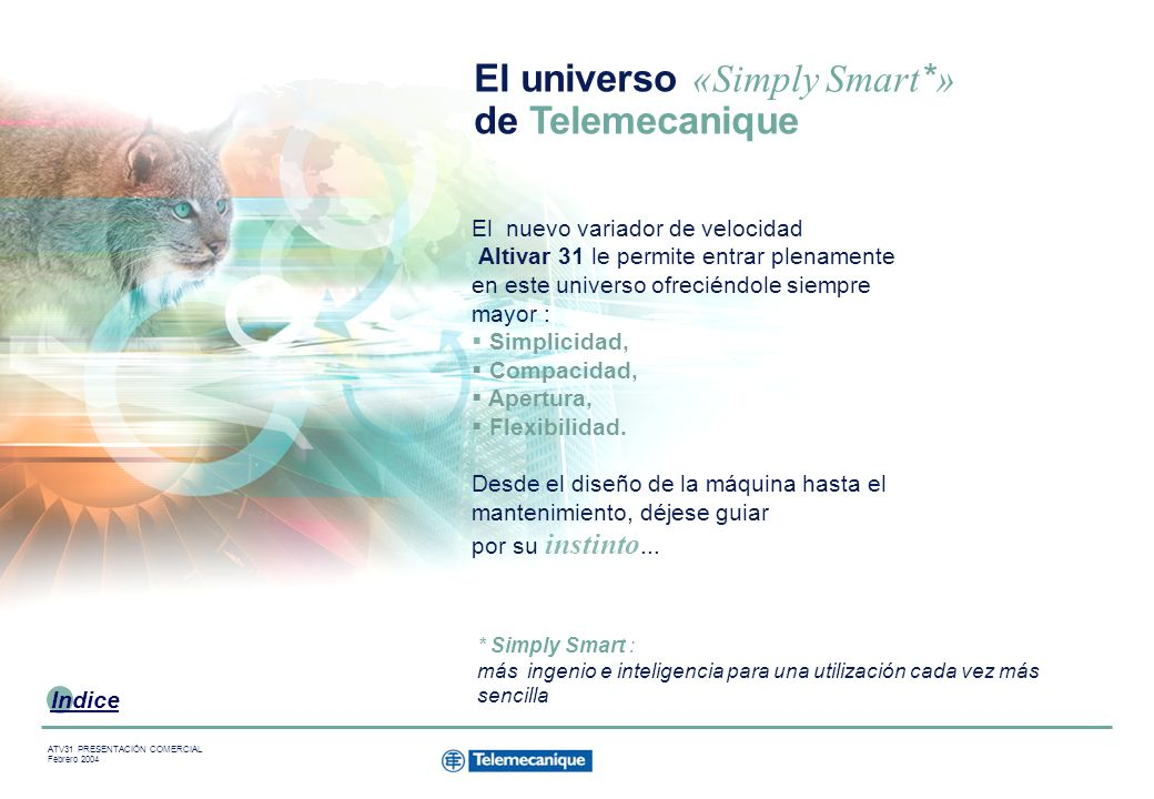 El universo «Simply Smart*» de Telemecanique