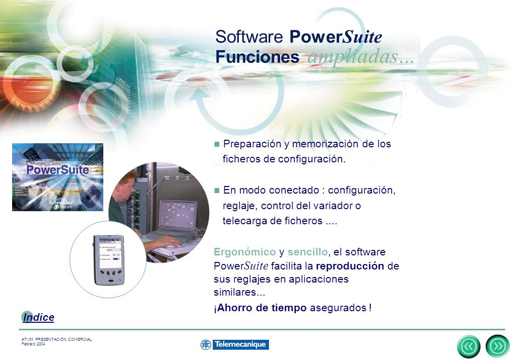 Software PowerSuite Funciones ampliadas...