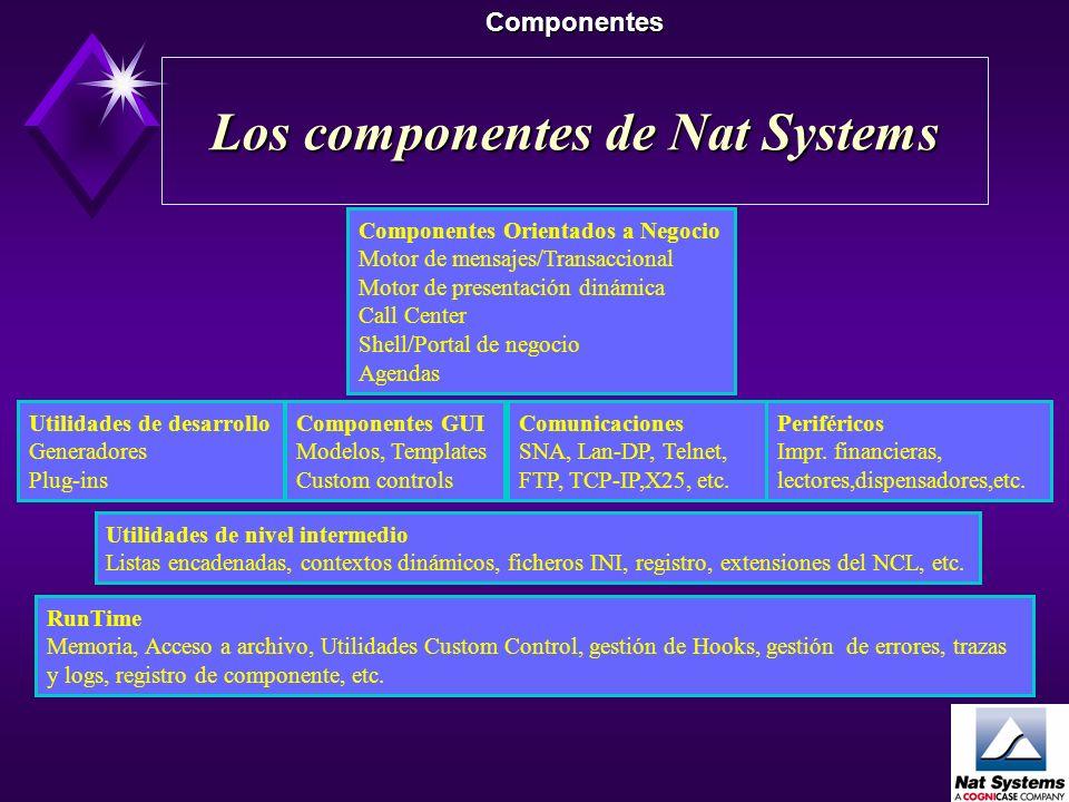 Los componentes de Nat Systems