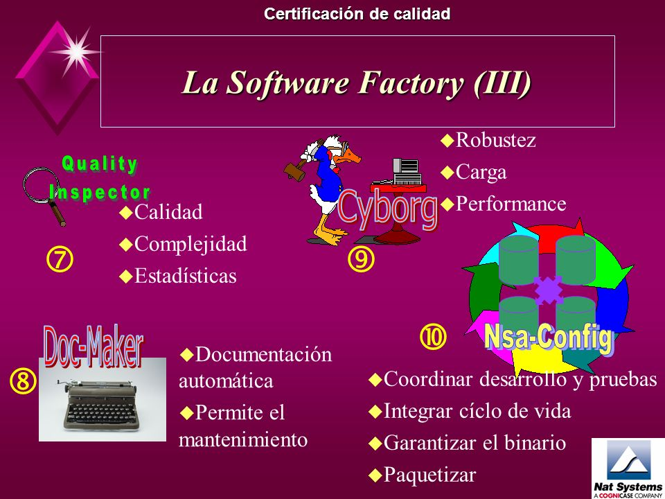 La Software Factory (III)