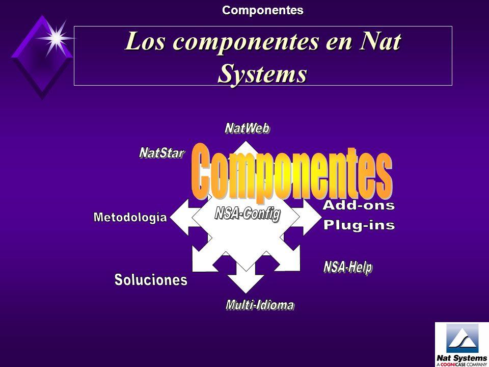 Los componentes en Nat Systems