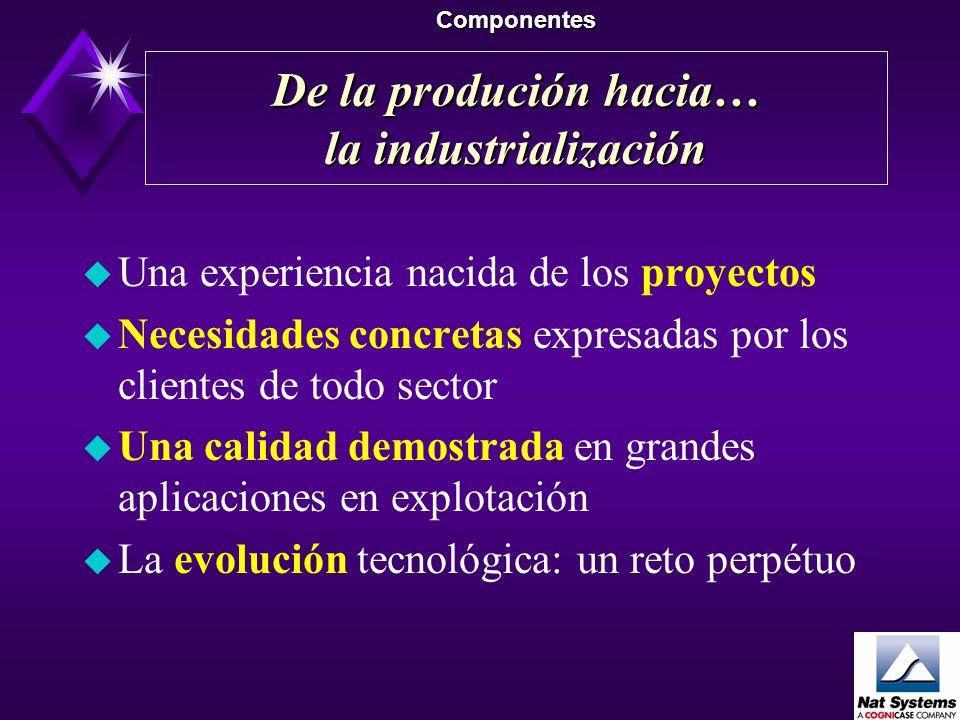 De la produción hacia… la industrialización