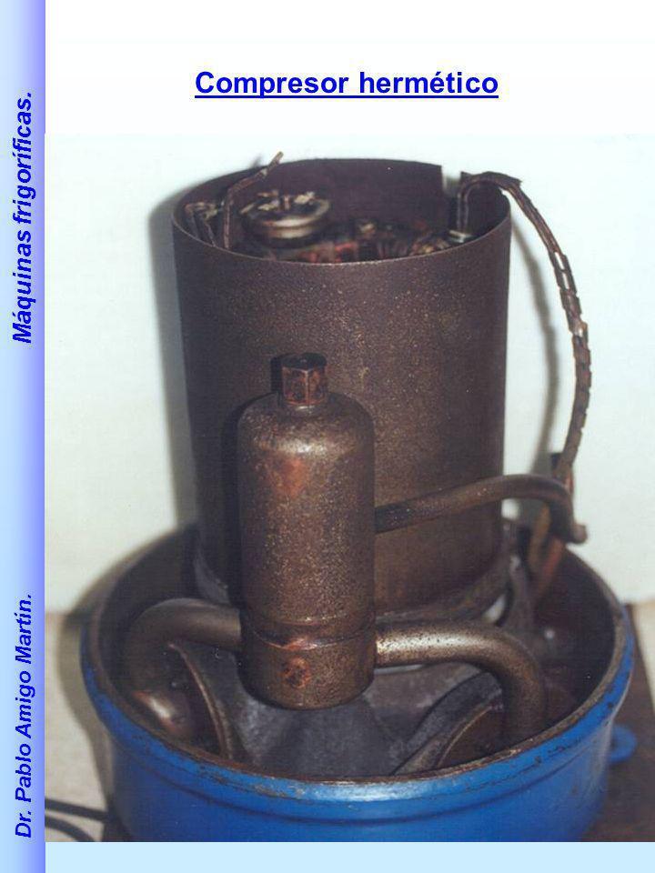 Compresor hermético