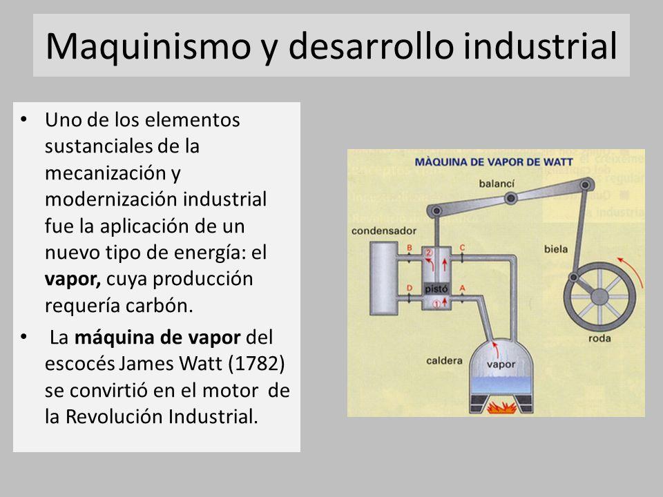 Maquinismo y desarrollo industrial