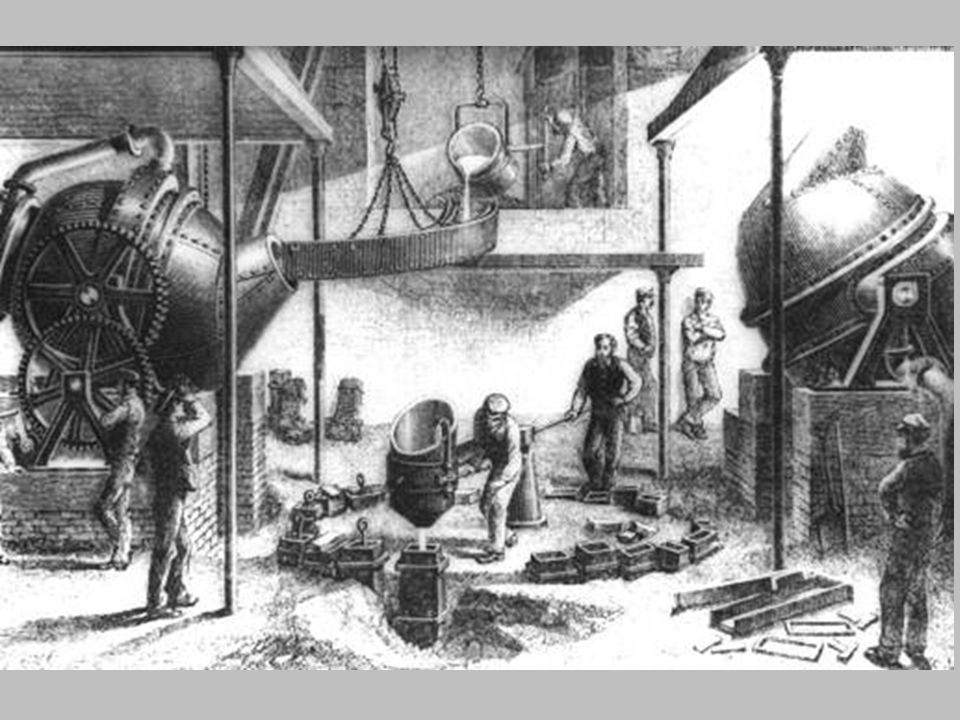 Ilustracion fabrica acero