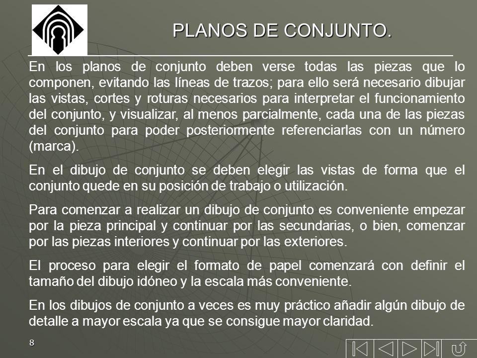 PLANOS DE CONJUNTO.