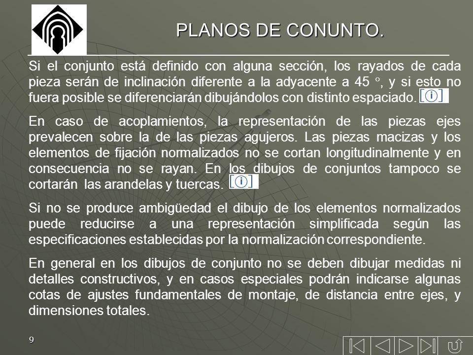 PLANOS DE CONUNTO.