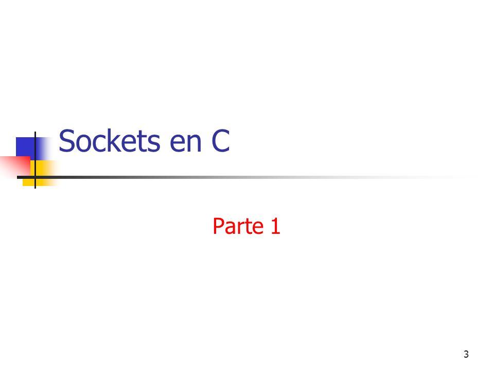 Sockets en C Parte 1