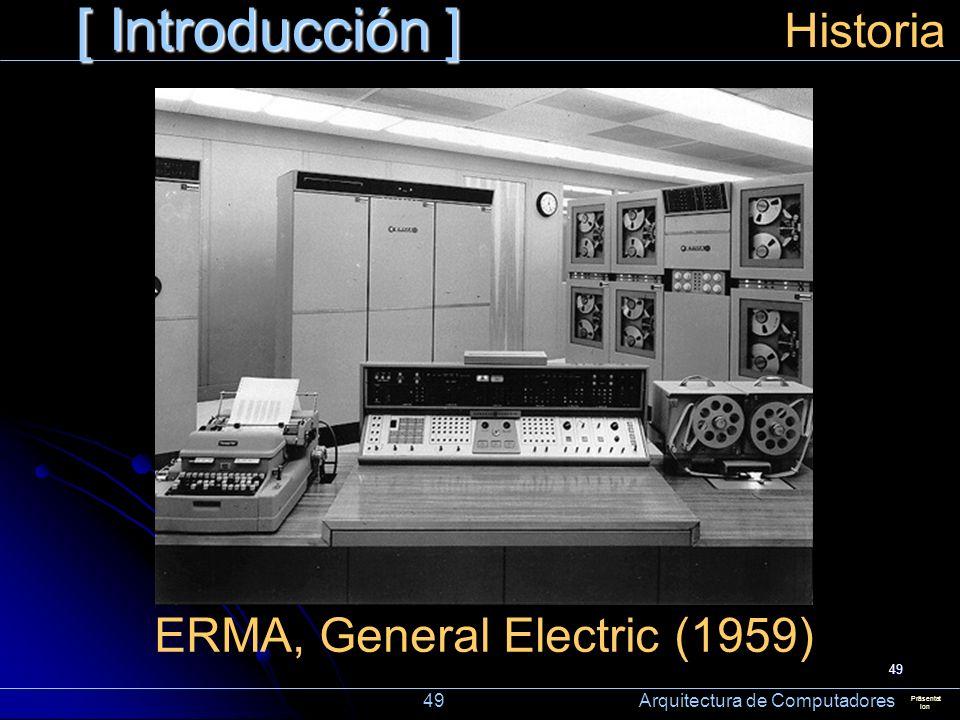 ERMA, General Electric (1959)