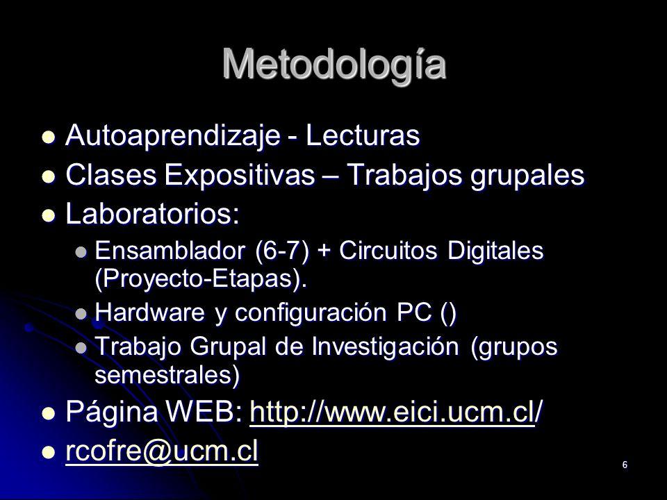 Metodología Autoaprendizaje - Lecturas