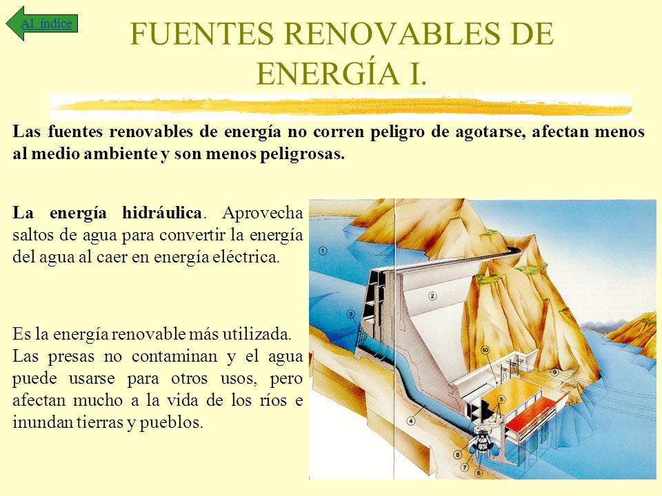 FUENTES RENOVABLES DE ENERGÍA I.
