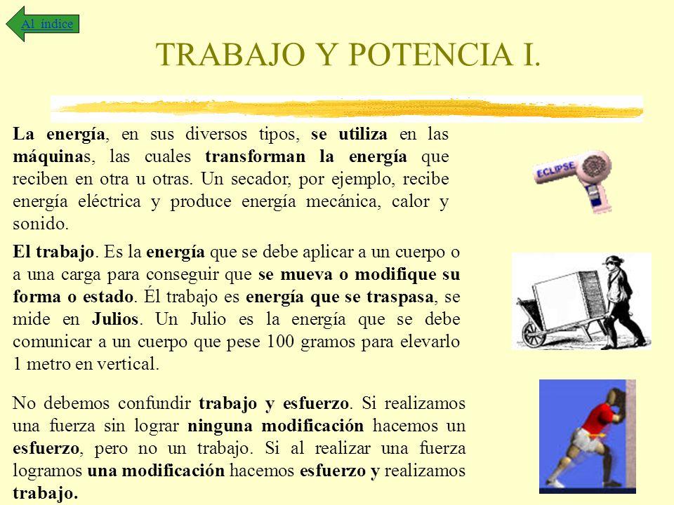 Al índice TRABAJO Y POTENCIA I.