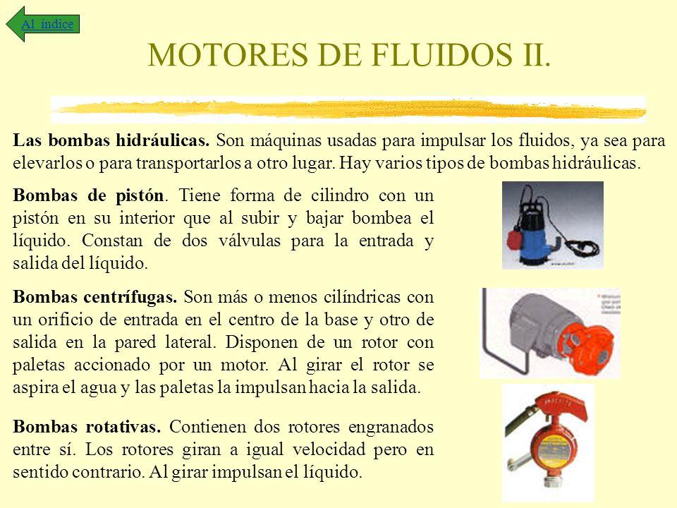 Al índice MOTORES DE FLUIDOS II.