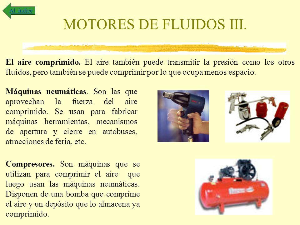 Al índice MOTORES DE FLUIDOS III.