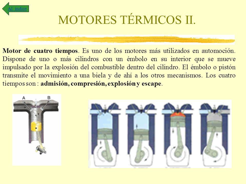 Al índice MOTORES TÉRMICOS II.