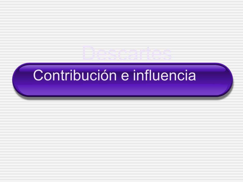 Contribución e influencia