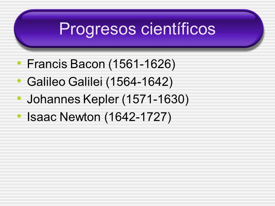 Progresos científicos