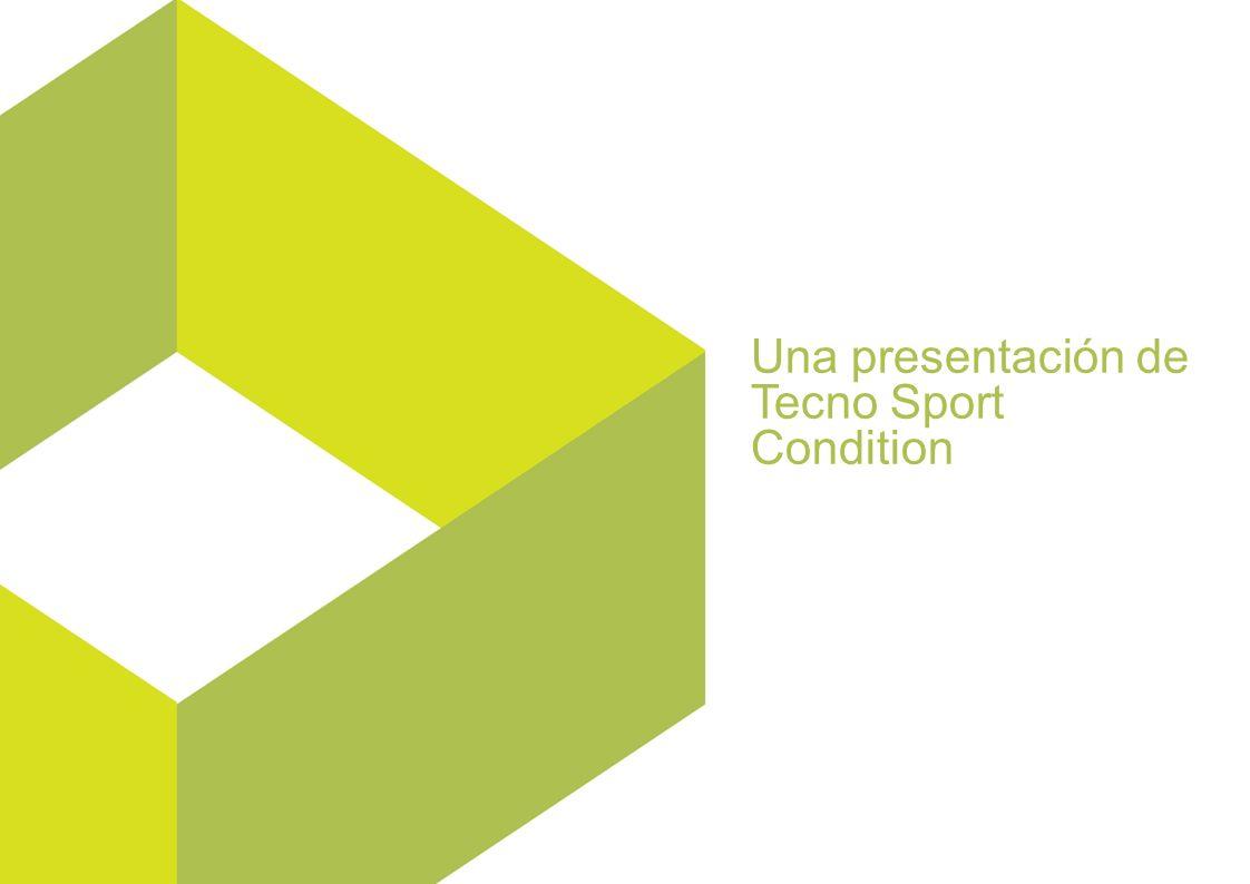 Una presentación de Tecno Sport Condition