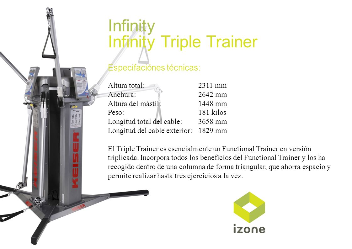 Infinity Triple Trainer