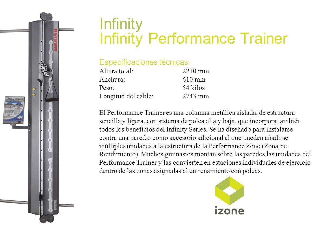 Infinity Performance Trainer
