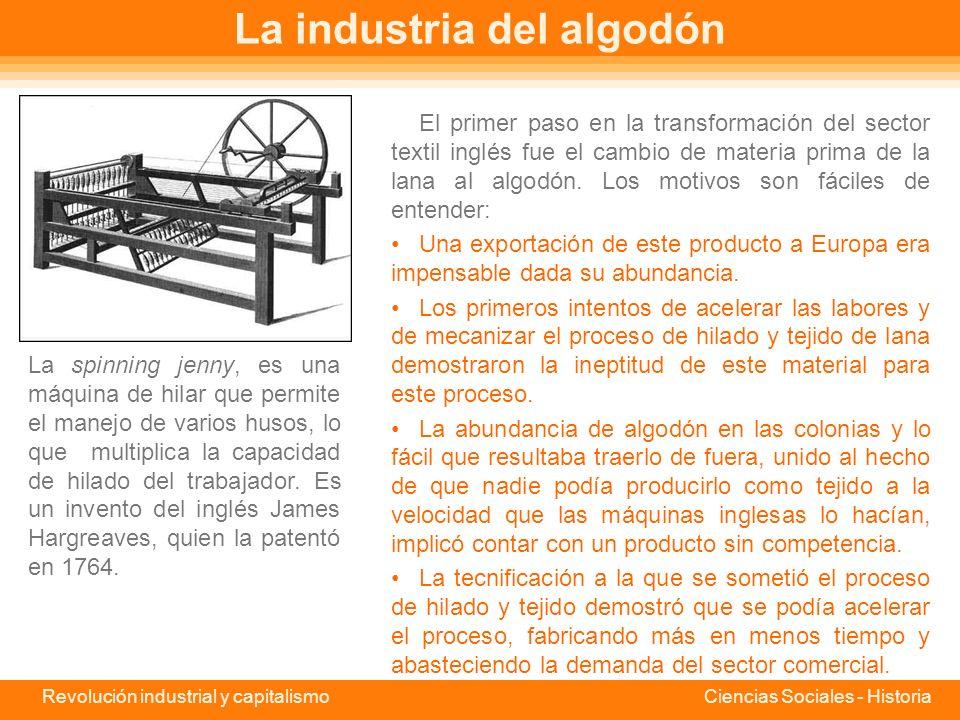 La industria del algodón