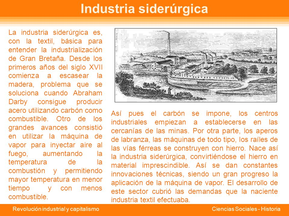 Industria siderúrgica