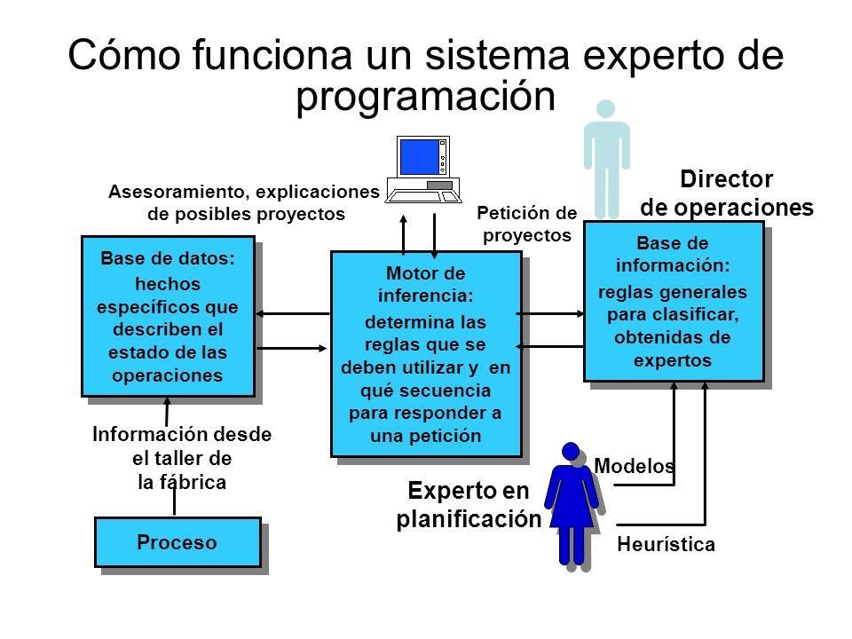 Cómo funciona un sistema experto de programación