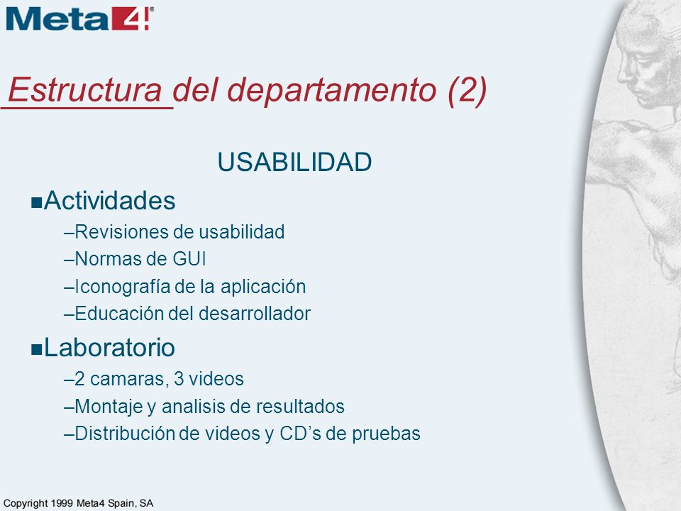 Estructura del departamento (2)