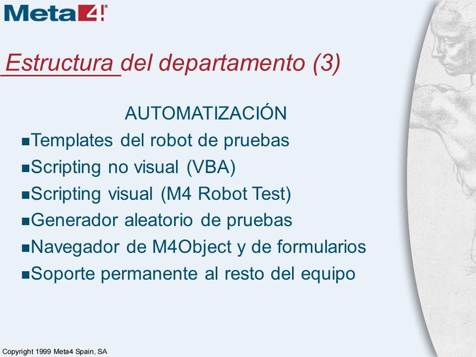 Estructura del departamento (3)
