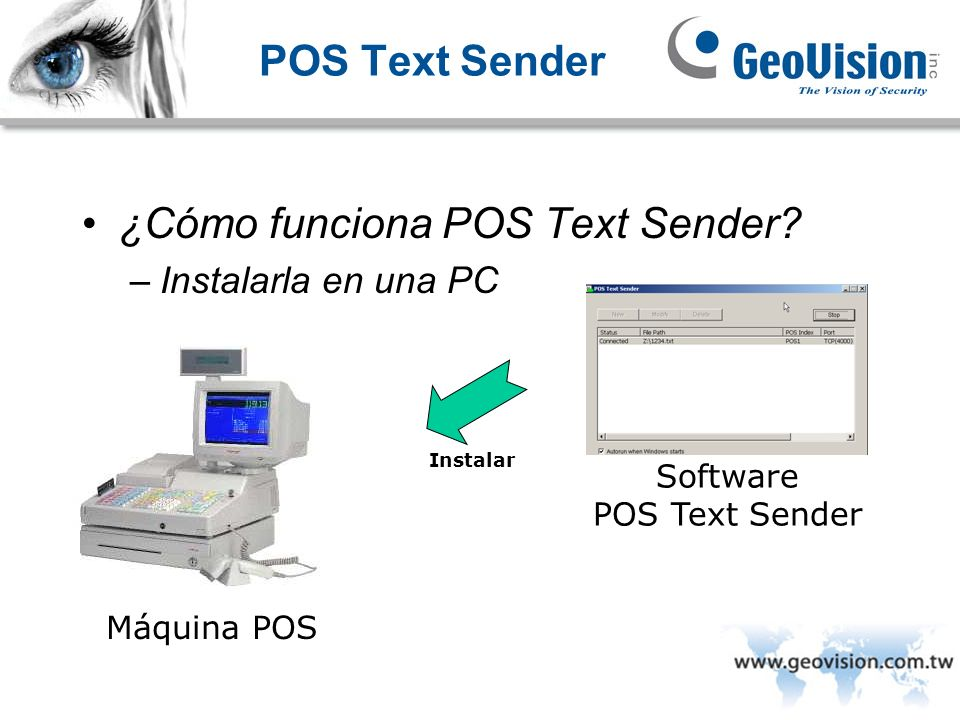 Software POS Text Sender