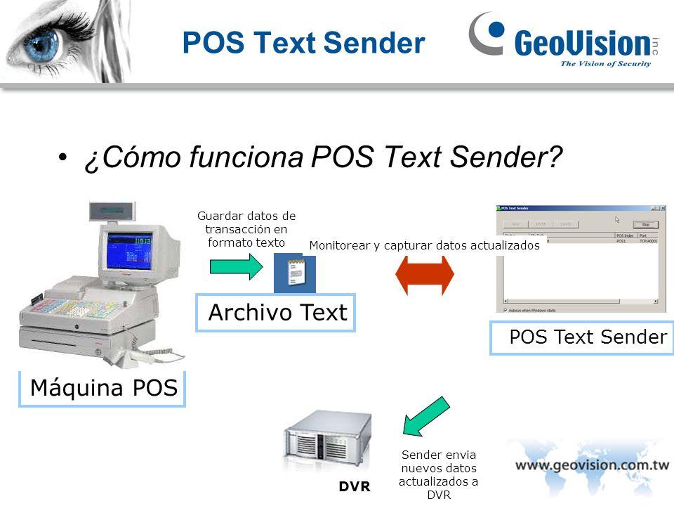¿Cómo funciona POS Text Sender