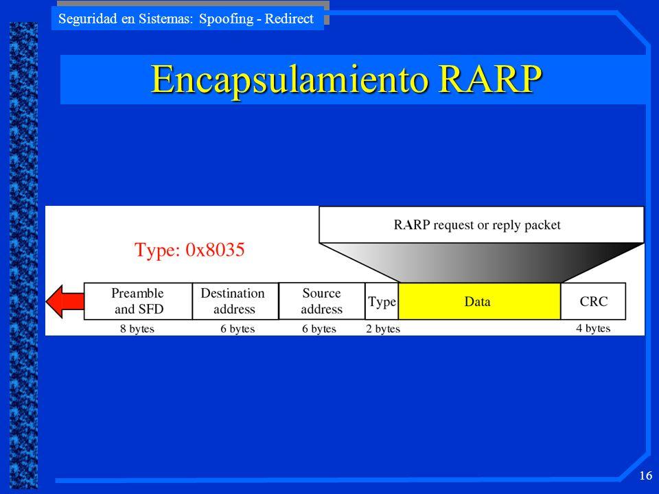 Encapsulamiento RARP