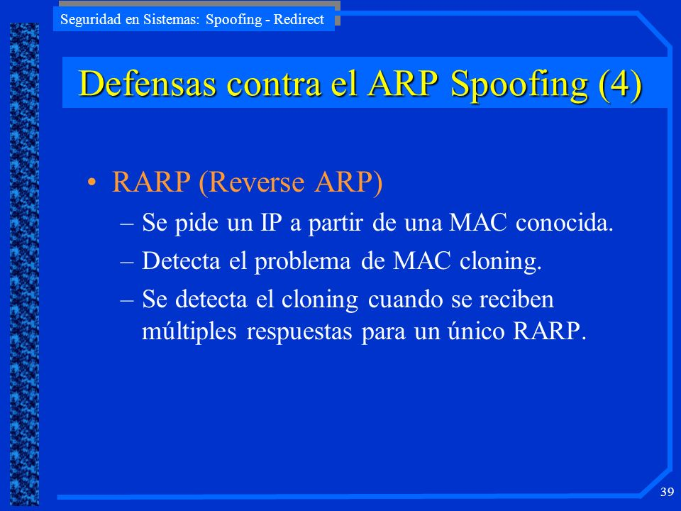 Defensas contra el ARP Spoofing (4)