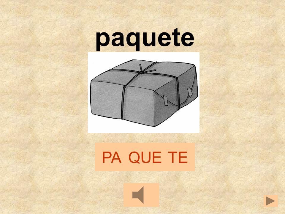 paquete PA QUE TE