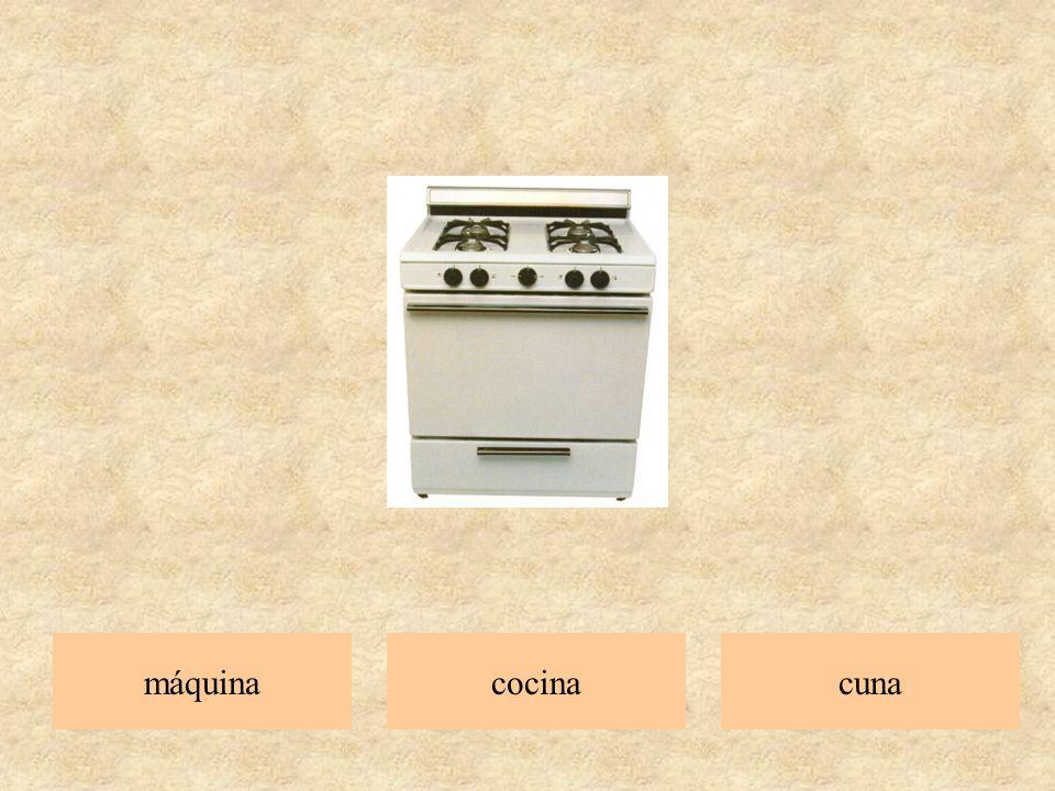 máquina cocina cuna