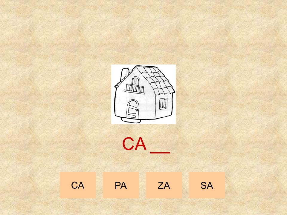 CA __ CA PA ZA SA
