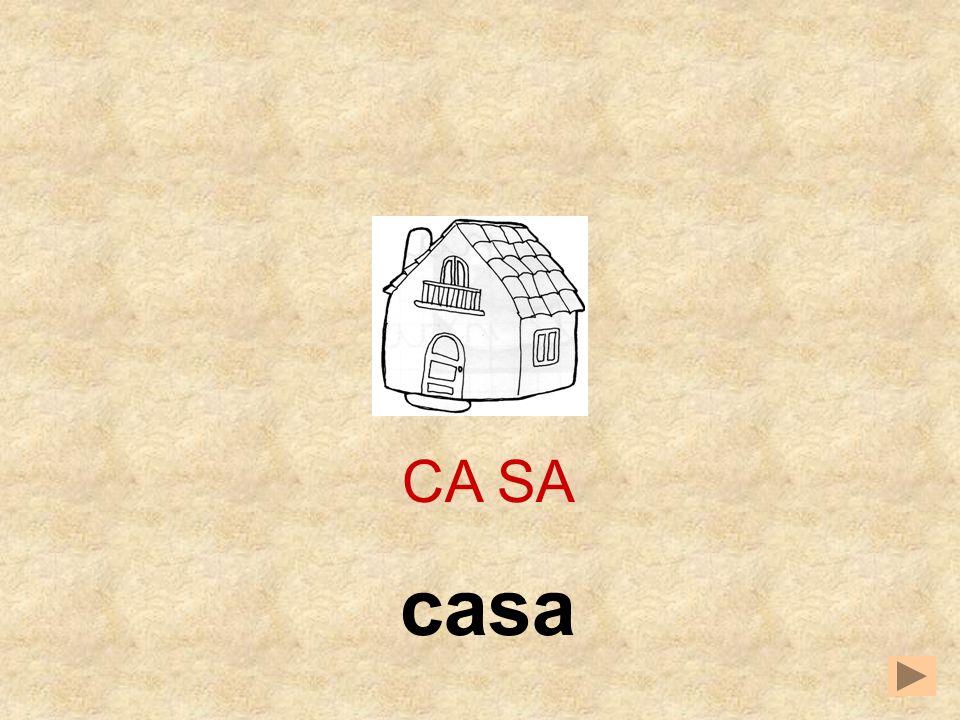 CA SA casa
