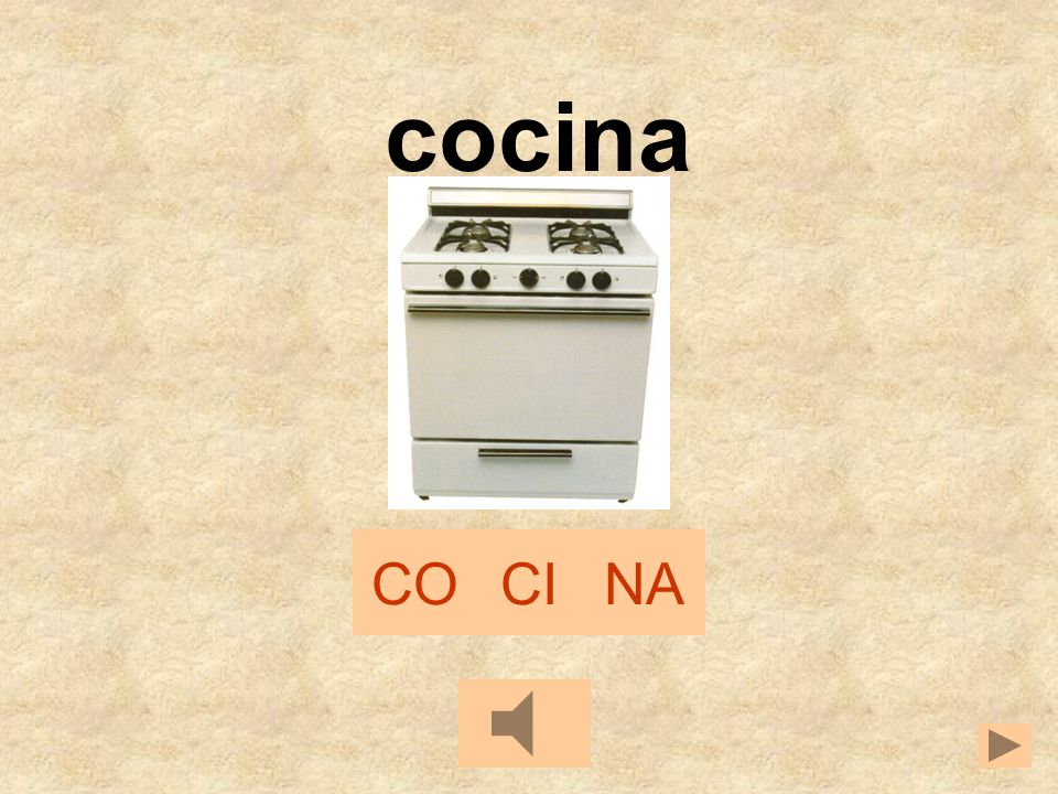 cocina CO CI NA