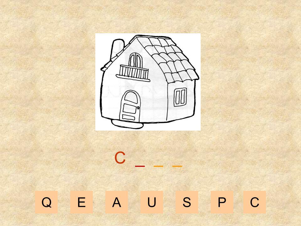 C _ _ _ Q E A U S P C