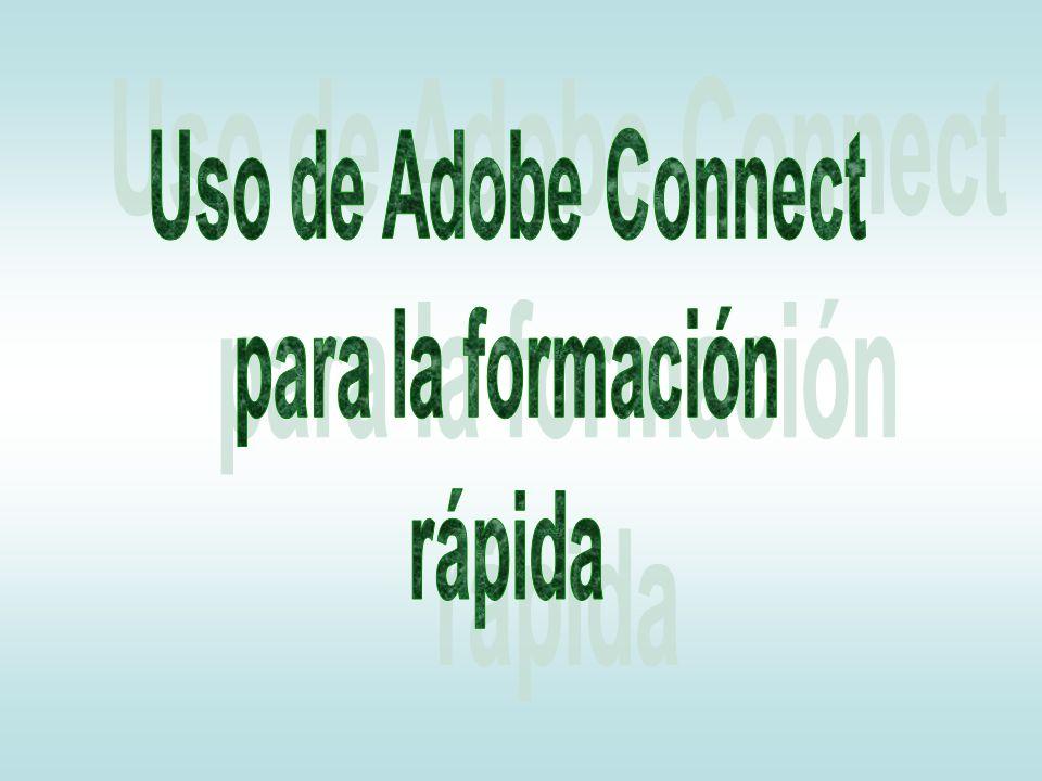 Uso de Adobe Connect para la formación rápida