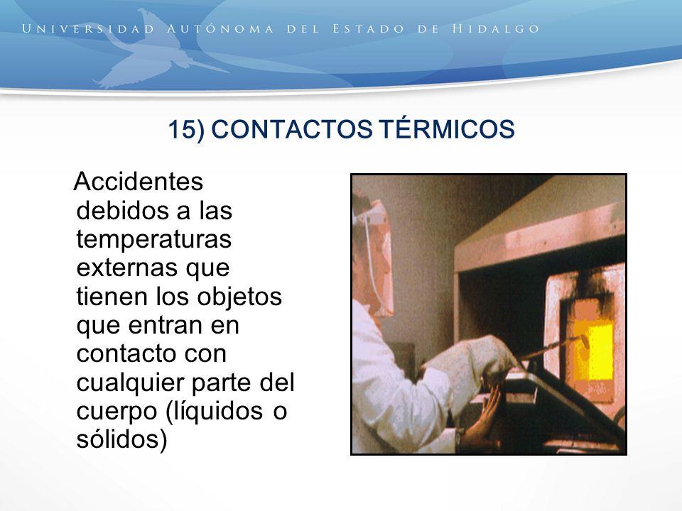 15) CONTACTOS TÉRMICOS