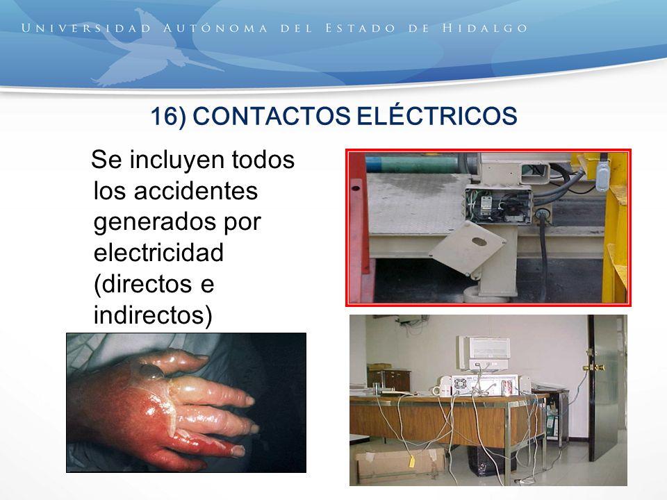 16) CONTACTOS ELÉCTRICOS
