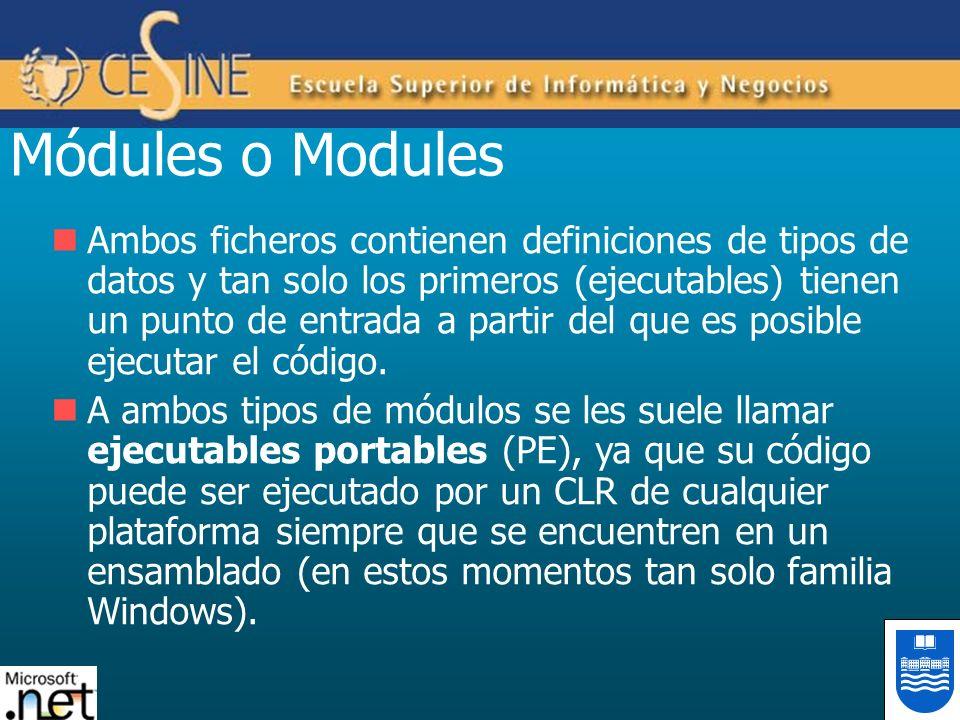 Módules o Modules