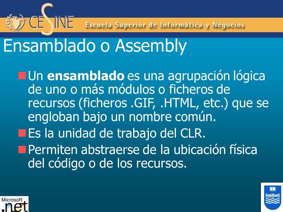 Ensamblado o Assembly