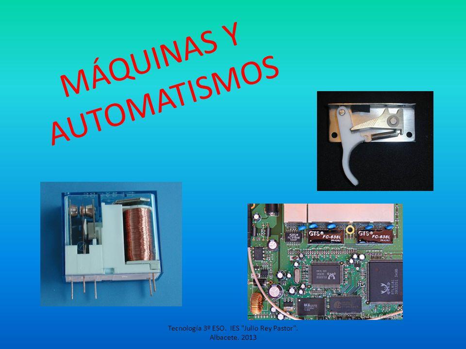 MÁQUINAS Y AUTOMATISMOS
