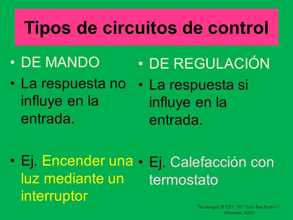 Tipos de circuitos de control