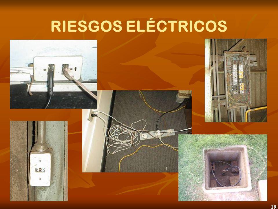 RIESGOS ELÉCTRICOS