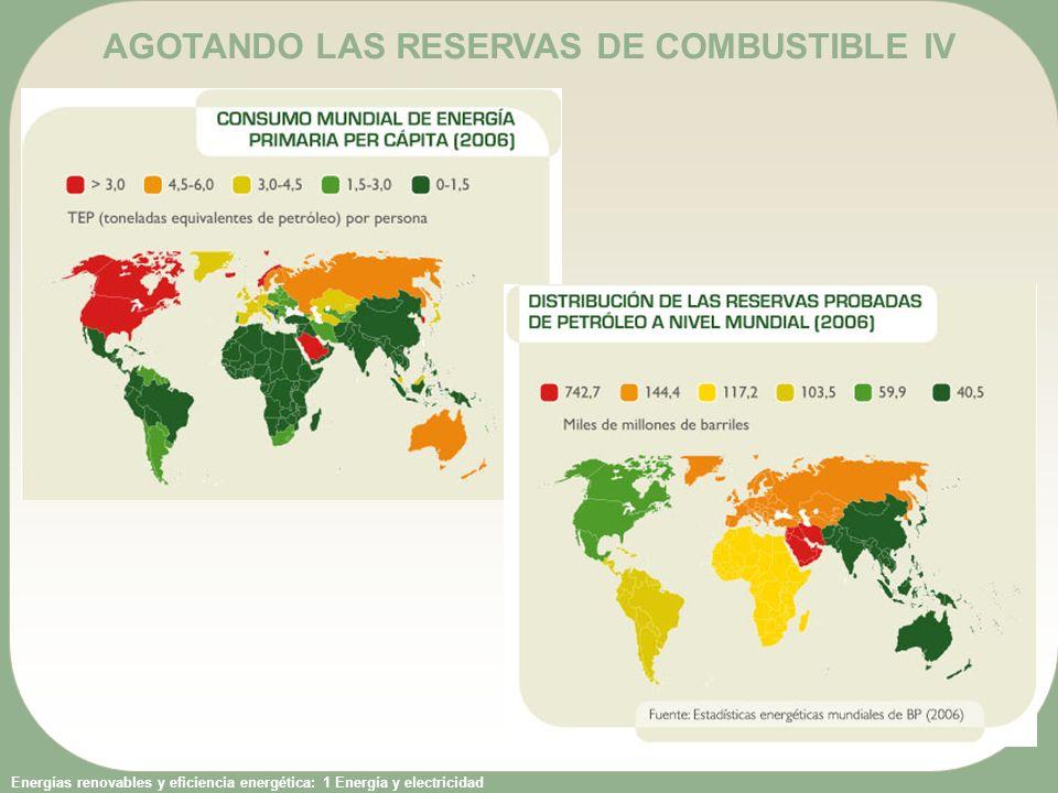 AGOTANDO LAS RESERVAS DE COMBUSTIBLE IV